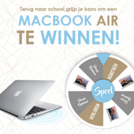 Win een MacBook Air!
