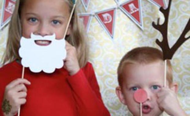 Baby be maak een fotokaart als kerstkaart wij geven je