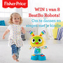 Win een BeatBo Robot van Fisher-Price