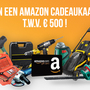 Win een Amazon cadeaukaart T.W.V. 500€